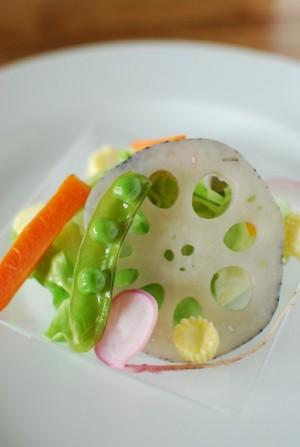 マクロウタセ 蒸野菜