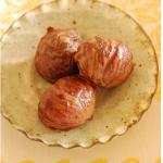 秋の味覚『栗』 栗の渋皮煮マクロビレシピ