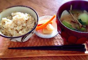 黄金の食事法 朝食 和食