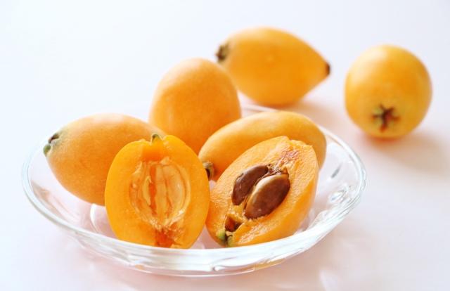 和の宝石 日本のフルーツ 果物 びわ