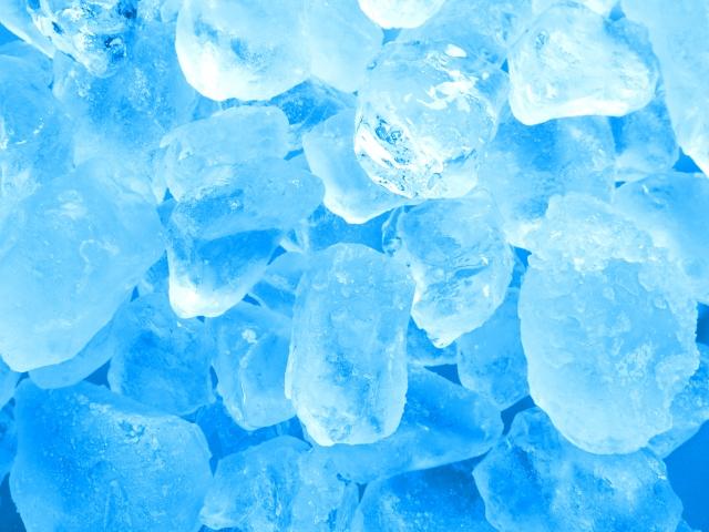 アイス 氷 身体 心 冷やす