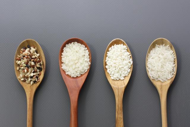 白米 玄米 黒米