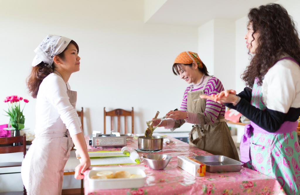 台所から自分革命スタートクラス調理風景
