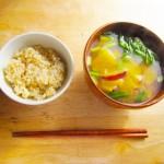 世界一健康的な最高のスープは味噌汁
