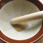 すり鉢掃除専門の道具、効果がすごい!
