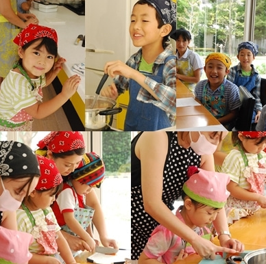 子供 食育 子供料理教室
